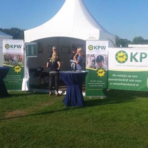 Stand KPW op Horse Event